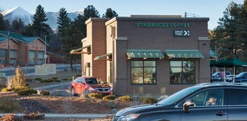 New Flagstaff Starbucks
