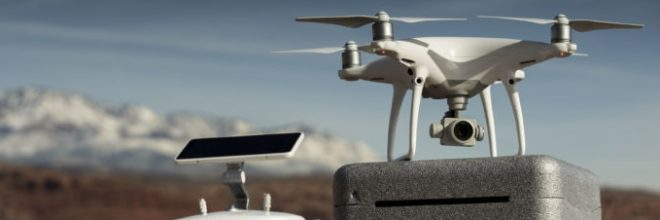 Aerial Drones and Land Surveying