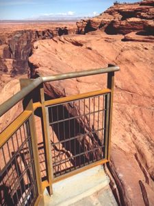 Horseshoe Bend Guardrail