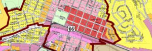 Flagstaff Zoning Map