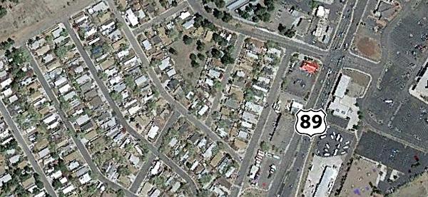 Arizona Aerial Topographic Map