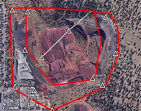 Aerial Drone Survey Map