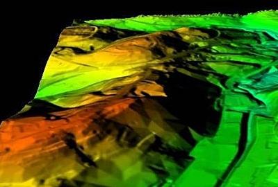 Aerial Drone Digital Surface Model