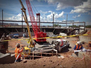 Window Rock Event Center Construction