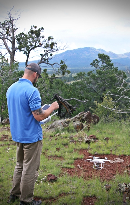 Aerial Drone Launch Mapping