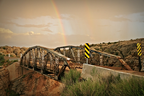 Historic Chevelon Creek Bridge