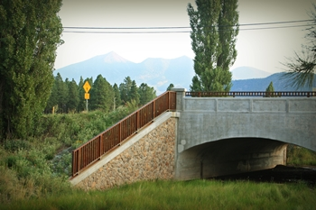 Thorpe Road Rio de Flag Bridge Construction Flagstaff AZ