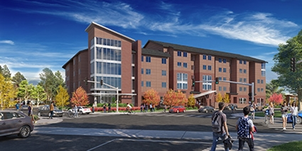 NAU Honors Student Housing Construction