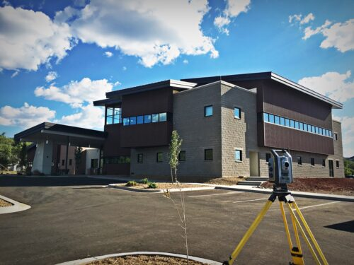 North Country HealthCare Construction Staking