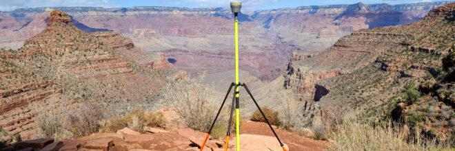 Grand Canyon Rest House Topographic Surveys